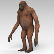 Orangután modelo 3d
