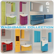 Washbasin Collection 3d model