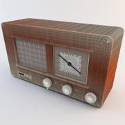 Radio retro 3 modelo 3d
