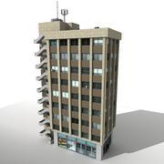 City Building 04 3d model