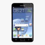 Samsung Galaxy Note modelo 3d