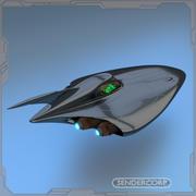 крейсер 3d model