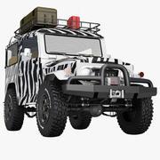 Toyota Land Cruiser FJ40 Expedition 3d model