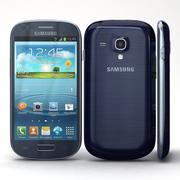 Samsung I8190 Galaxy S3 mini Niebieski 3d model