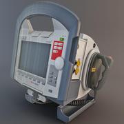 脉冲除颤器 3d model