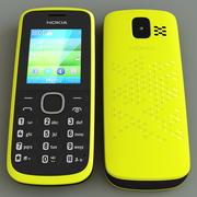 노키아 110 옐로우 3d model