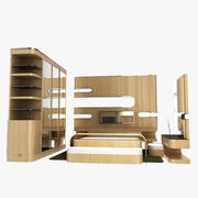 Pokój 3d model