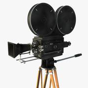 Винтажная кинокамера 3d model