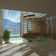 Krankenhaus Lobby 3d model