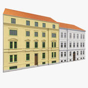 European Building Facades 3d model