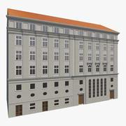 Facciate di edifici europei 2 3d model