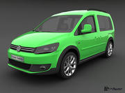 Volkswagen Cross Caddy 2013 3d model
