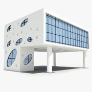 Corporate Building 04 3d model