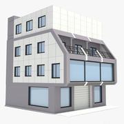 Corporate Building 05 3d model