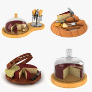 Cheese Collection 3d model
