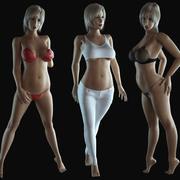 Kız (Rigged) 3d model