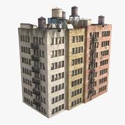 Kompleks budynków mieszkalnych 3d model