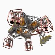 MSL Gökyüzü Vinç 3d model