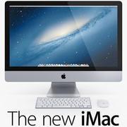 The New iMac 3d model