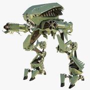 Assault Robot - rigged 3d model