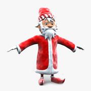 Babbo Natale carino 3d model