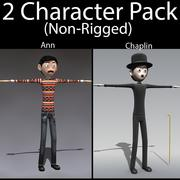 Character Pack 03 3d model