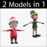 Colección de Navidad 05 modelo 3d