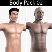 Body Pack 02 3d model