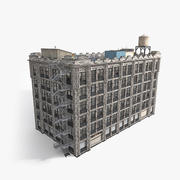 Bâtiment résidentiel 3d model