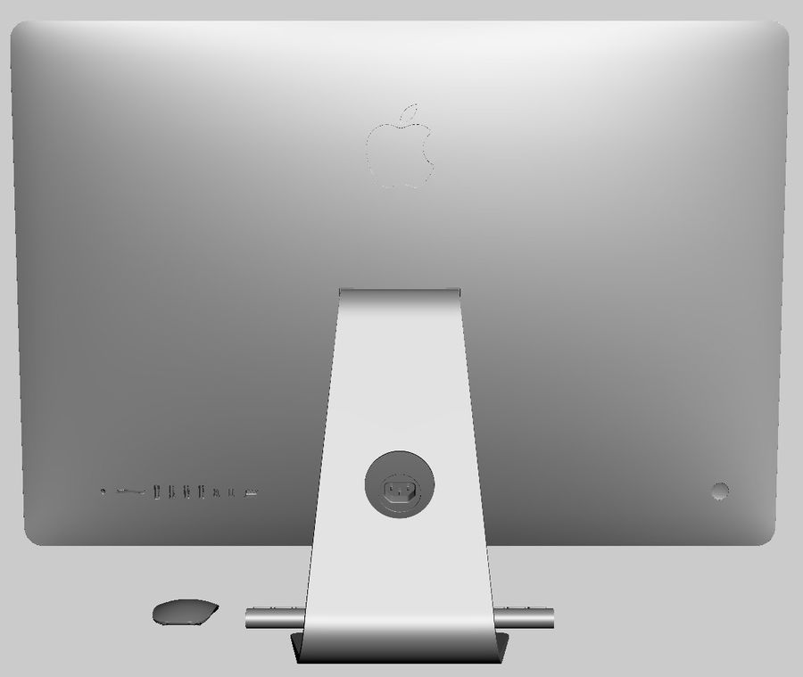 Apple Electronics Collection 2013 v1 royalty-free 3d model - Preview no. 130
