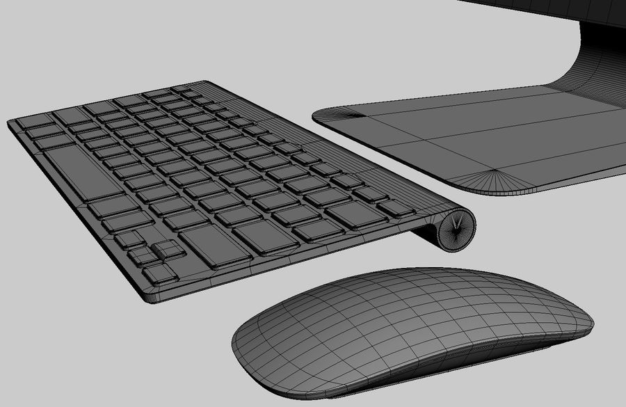 Apple Electronics Collection 2013 v1 royalty-free 3d model - Preview no. 144