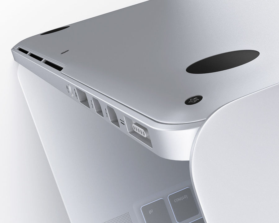 Apple Electronics Collection 2013 v1 royalty-free 3d model - Preview no. 90