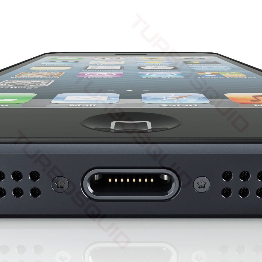 Apple Electronics Collection 2013 v1 royalty-free 3d model - Preview no. 24