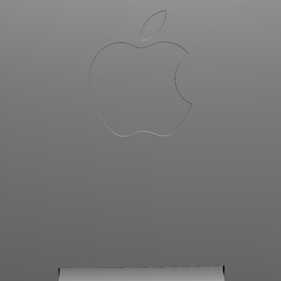 Apple Electronics Collection 2013 v1 royalty-free 3d model - Preview no. 147