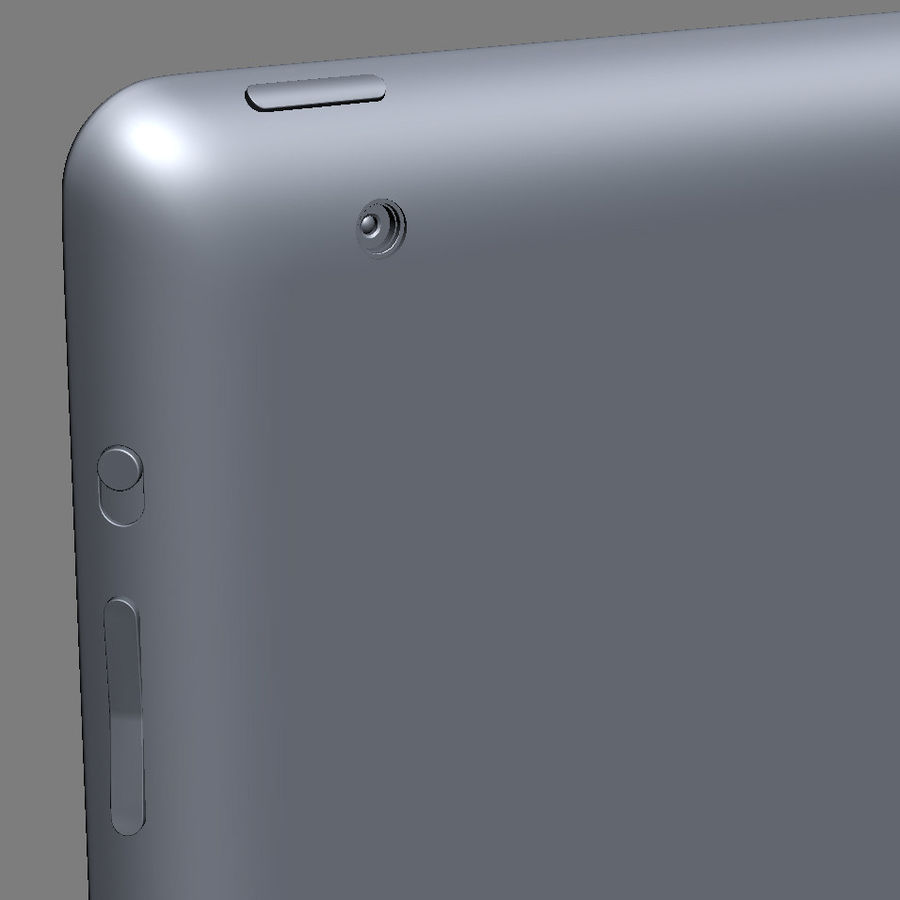 Apple Electronics Collection 2013 v1 royalty-free 3d model - Preview no. 71