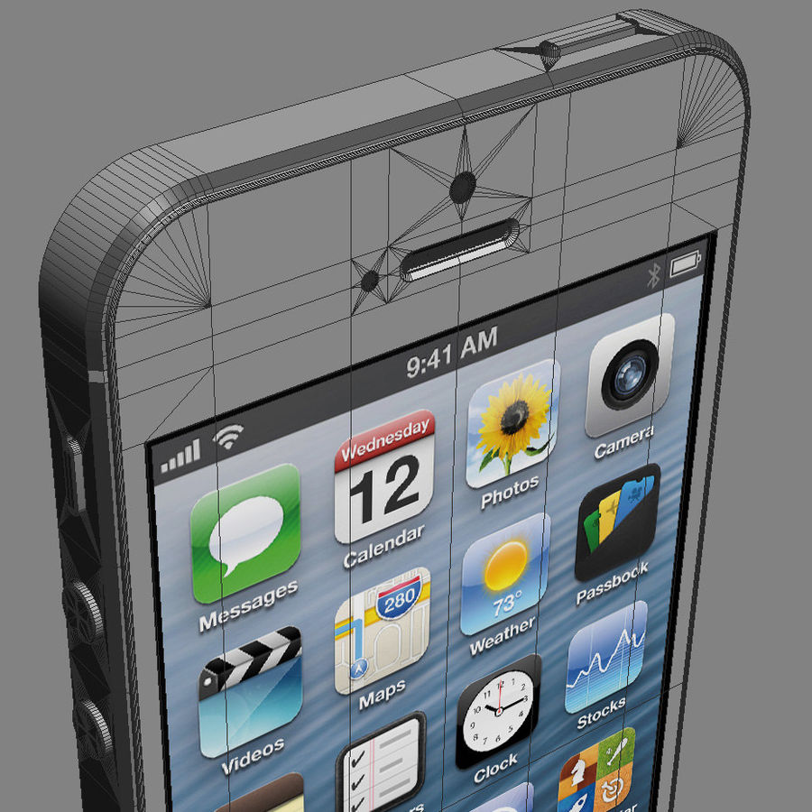 Apple Electronics Collection 2013 v1 royalty-free 3d model - Preview no. 18