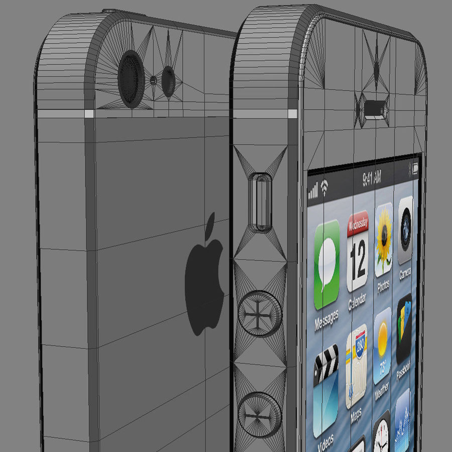 Apple Electronics Collection 2013 v1 royalty-free 3d model - Preview no. 20