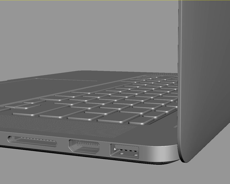Apple Electronics Collection 2013 v1 royalty-free 3d model - Preview no. 99