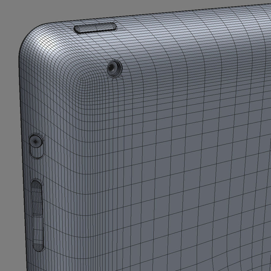 Apple Electronics Collection 2013 v1 royalty-free 3d model - Preview no. 72