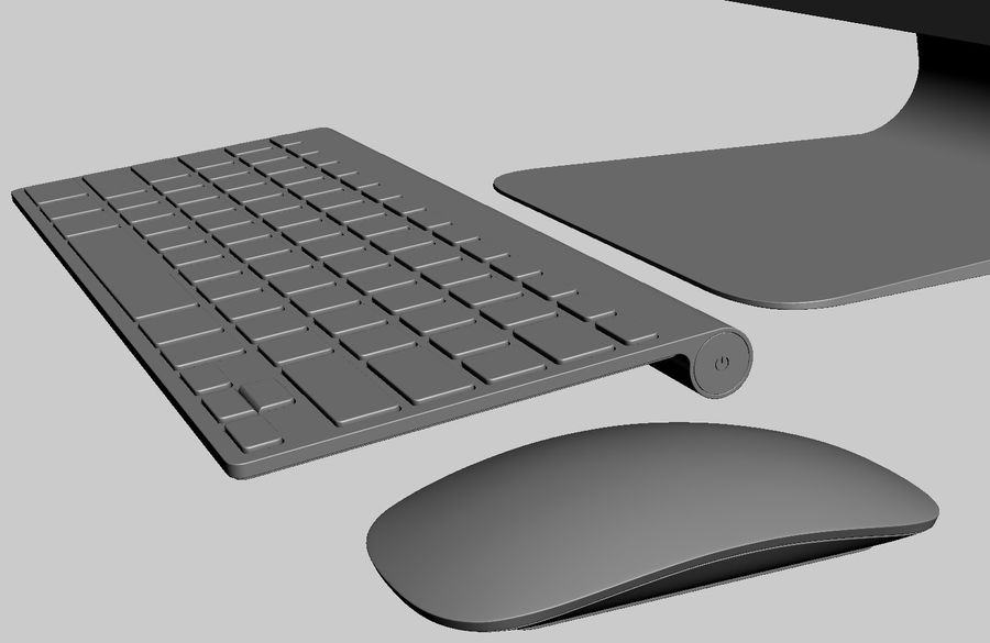 Apple Electronics Collection 2013 v1 royalty-free 3d model - Preview no. 143