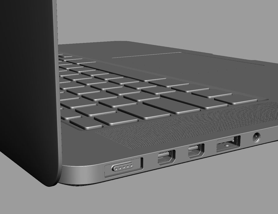 Apple Electronics Collection 2013 v1 royalty-free 3d model - Preview no. 101