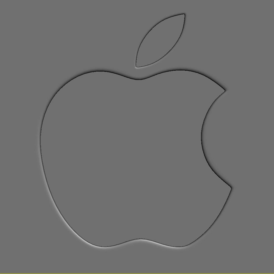 Apple Electronics Collection 2013 v1 royalty-free 3d model - Preview no. 64