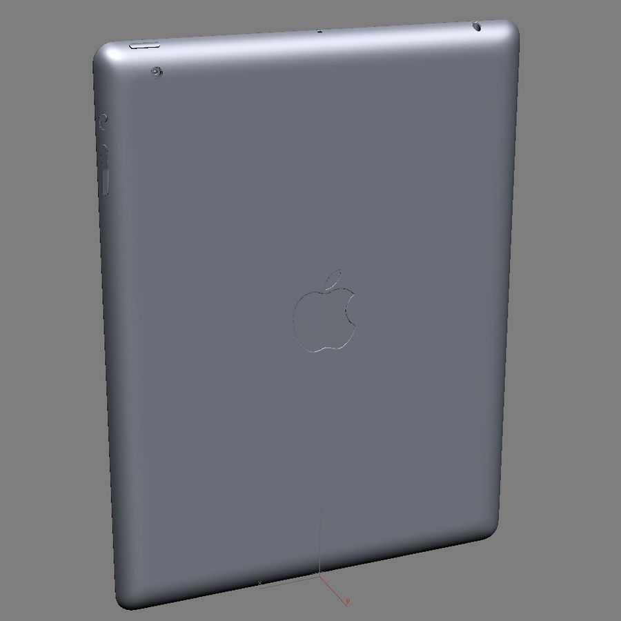 Apple Electronics Collection 2013 v1 royalty-free 3d model - Preview no. 61
