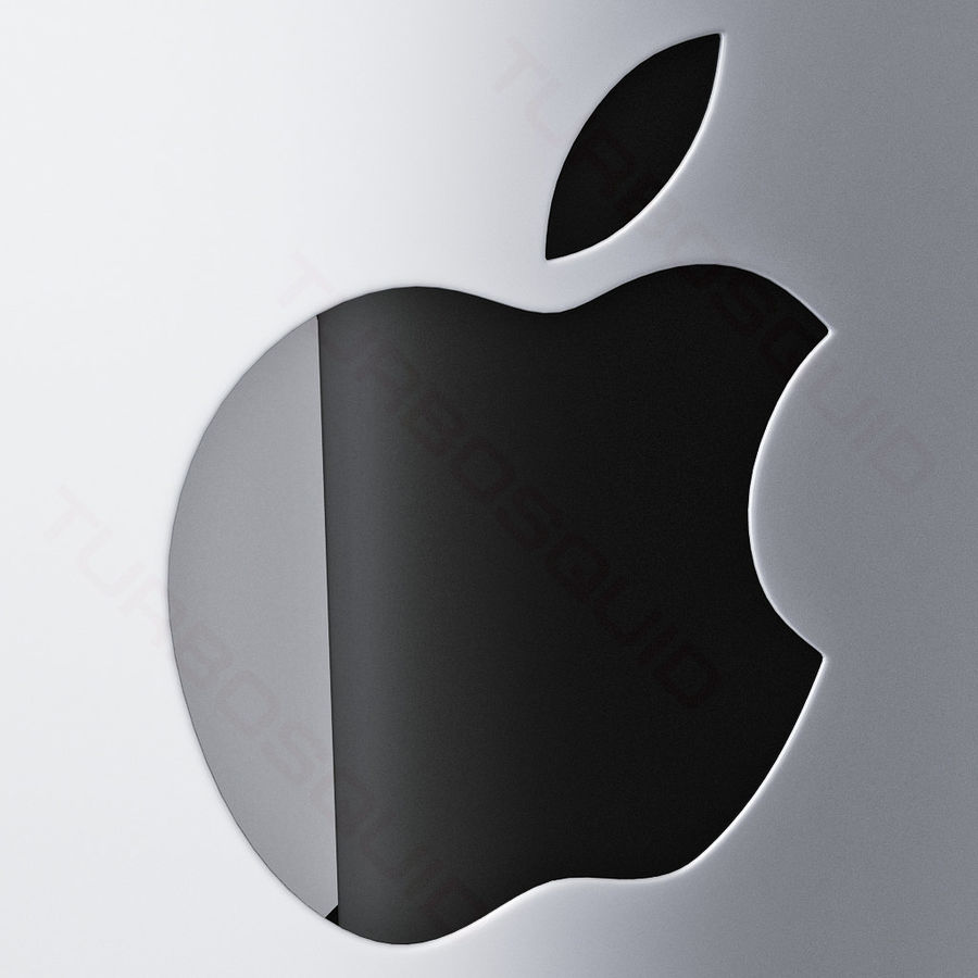 Apple Electronics Collection 2013 v1 royalty-free 3d model - Preview no. 53