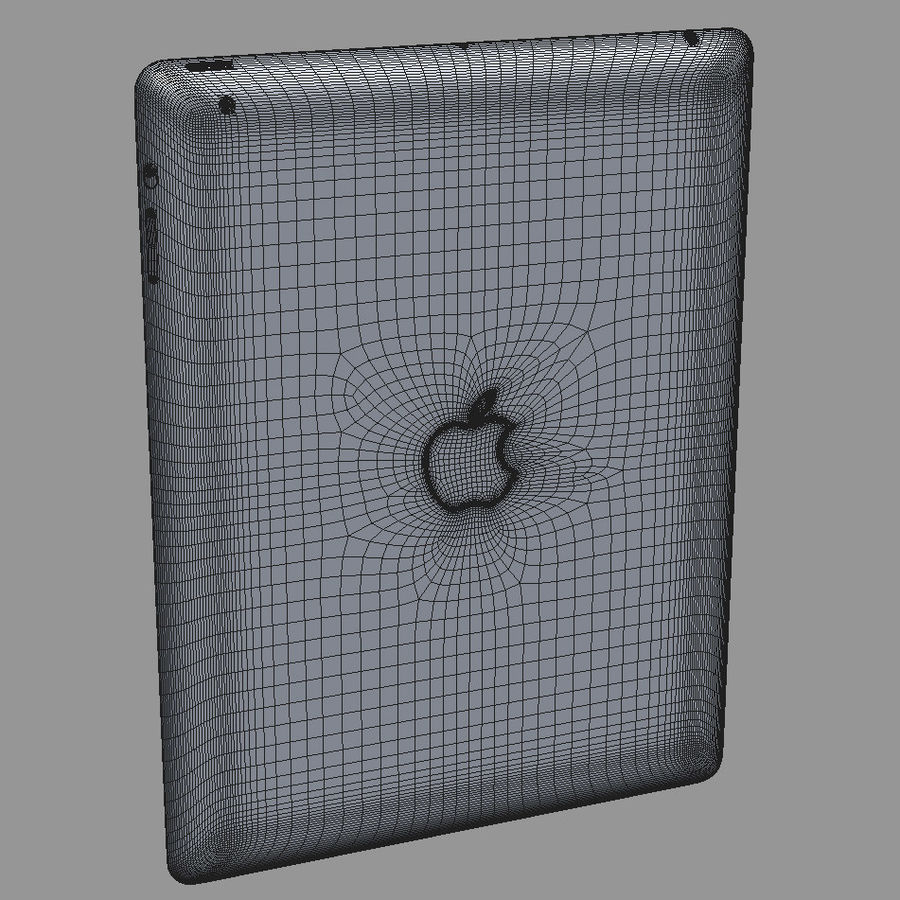 Apple Electronics Collection 2013 v1 royalty-free 3d model - Preview no. 60