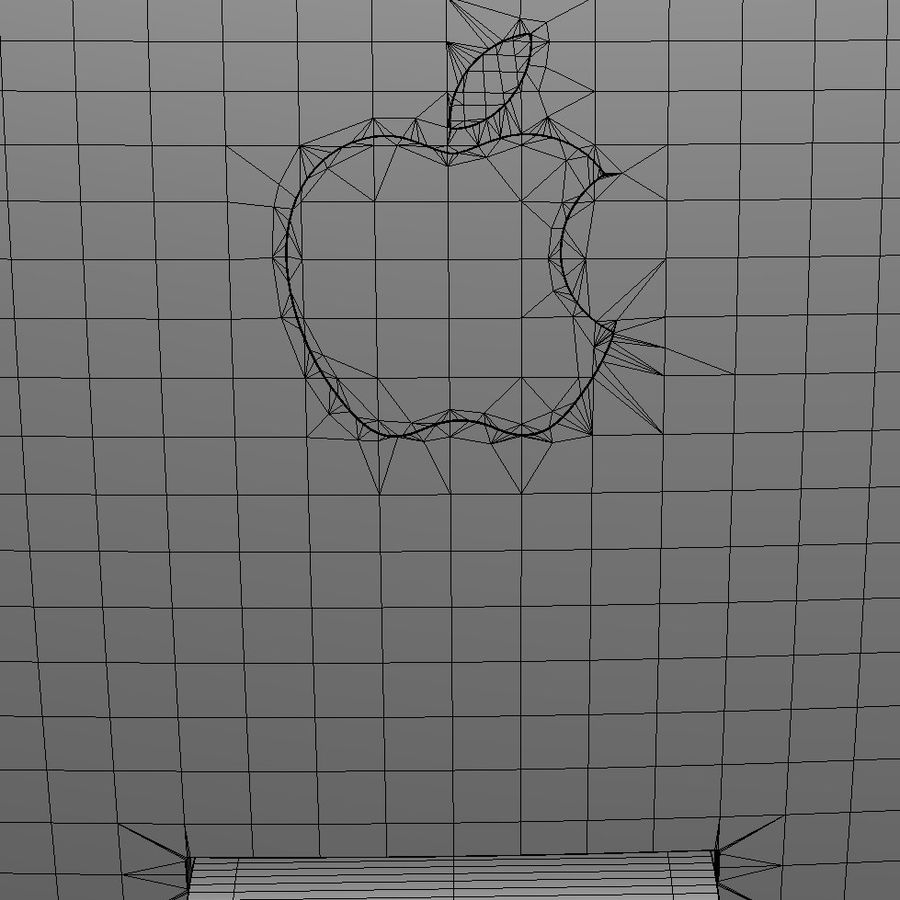 Apple Electronics Collection 2013 v1 royalty-free 3d model - Preview no. 148