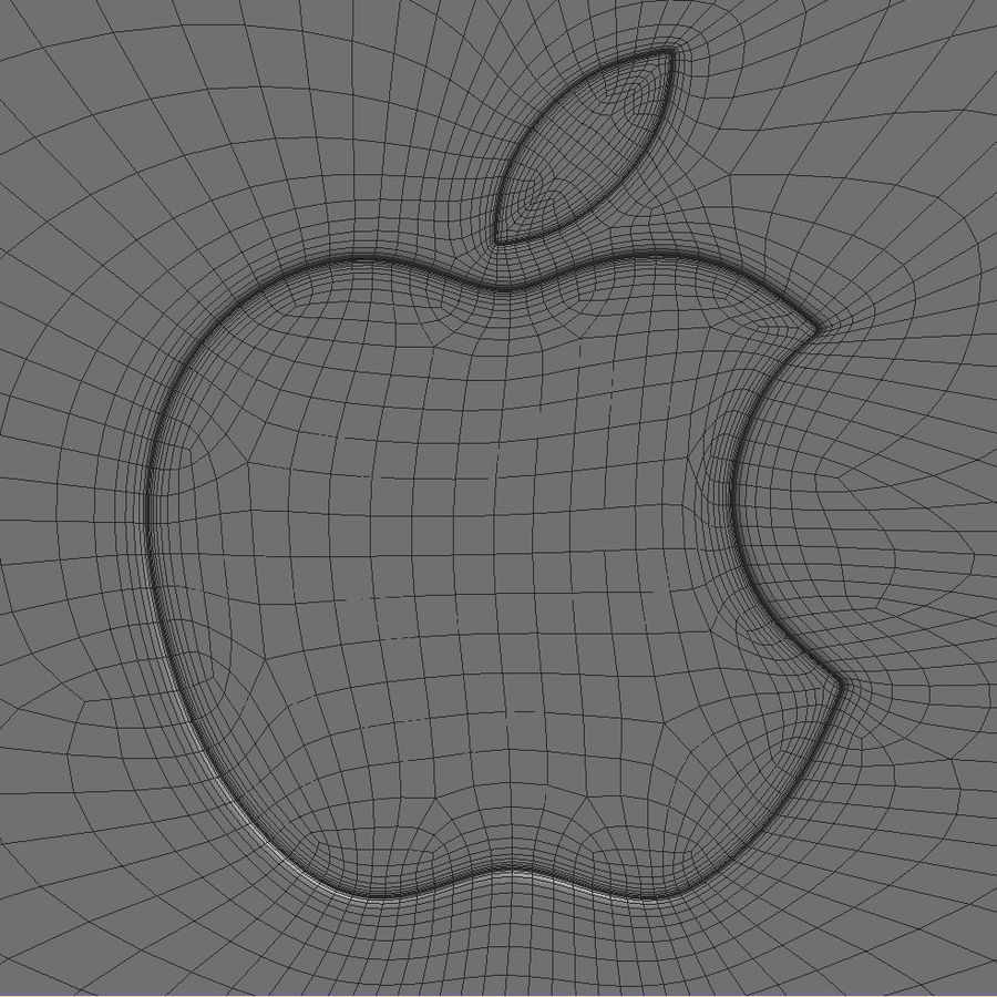 Apple Electronics Collection 2013 v1 royalty-free 3d model - Preview no. 65