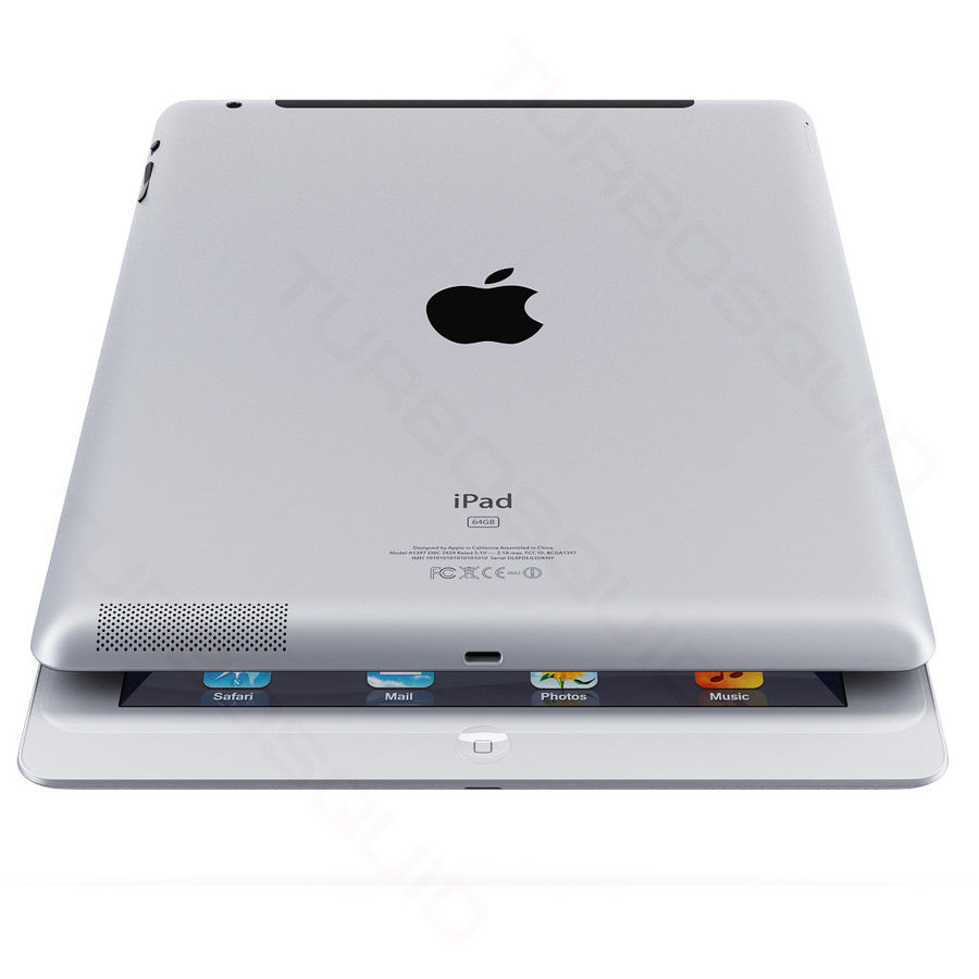 Apple Electronics Collection 2013 v1 royalty-free 3d model - Preview no. 49