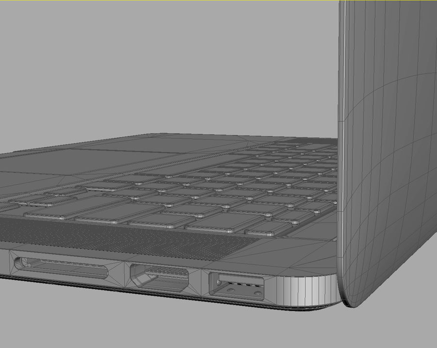 Apple Electronics Collection 2013 v1 royalty-free 3d model - Preview no. 100
