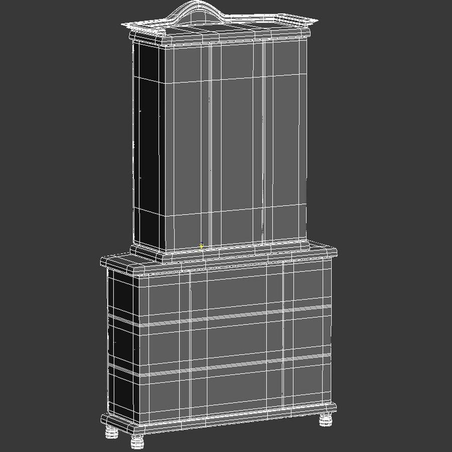 Muebles de armario royalty-free modelo 3d - Preview no. 17